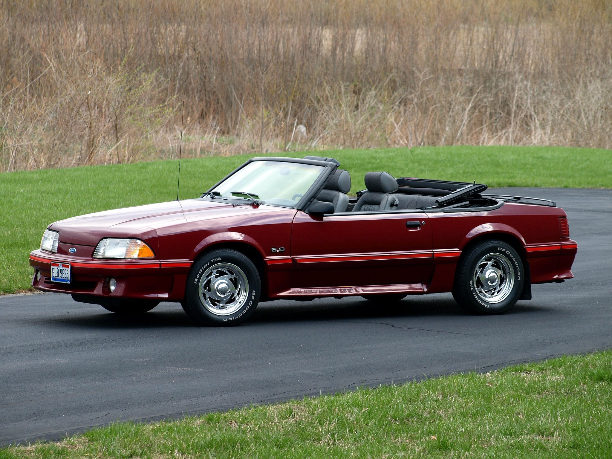 1987 93 ford mustang g t convertible muscle wallpaper. Black Bedroom Furniture Sets. Home Design Ideas