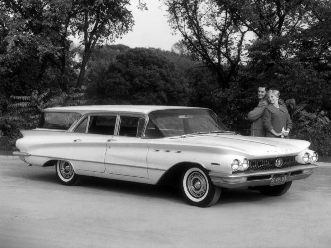 1960 Buick Invicta Estate StationWagon classic wallpaper