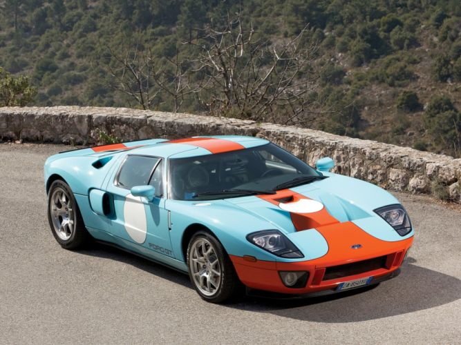 2006 Ford G-T Heritage supercar race racing wallpaper