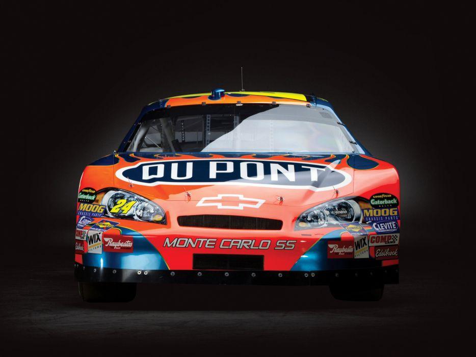 2006 Chevrolet Monte Carlo S-S NASCAR Nextel race racing wallpaper