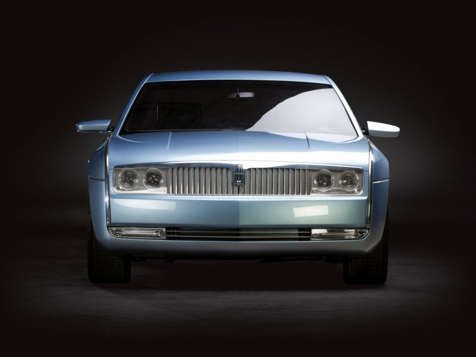 2002 Lincoln Continental Concept luxury wallpaper