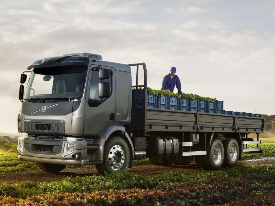 2014 Volvo V-M 330 6x2 semi tractor wallpaper