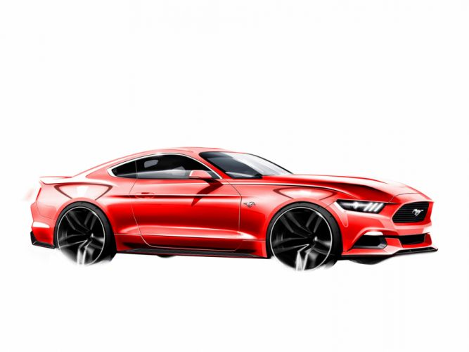 2015 Ford Mustang muscle wallpaper