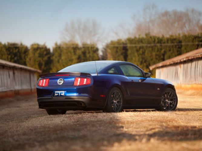 2010 Ford Mustang RTR muscle wallpaper