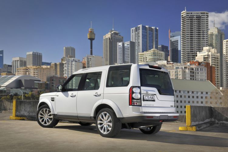 2014 Land Rover Discovery XXV AU-spec suv luxury 4x4 wallpaper
