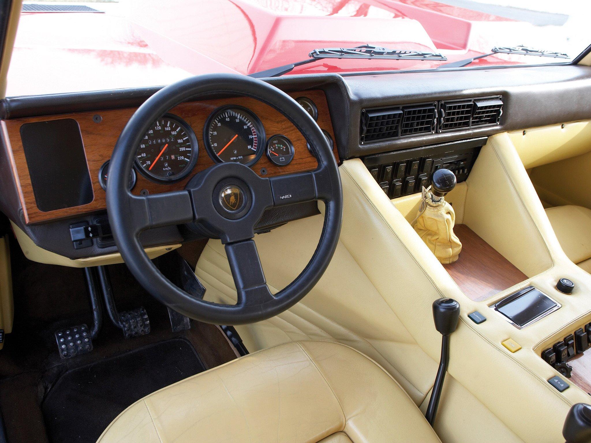 Lamborghini Lm002 Interior 1986 90 Lamborghini Lm002 Suv
