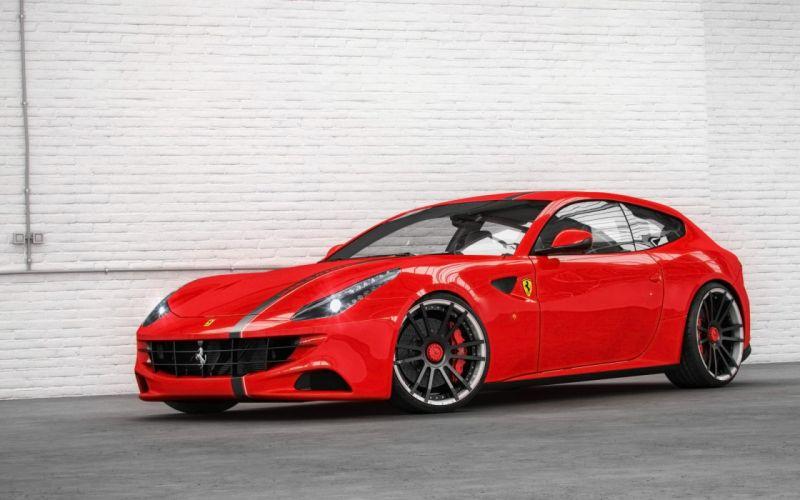2014 Wheelsandmore Ferrari La Famiglia FIWE supercar tuning f-f wallpaper