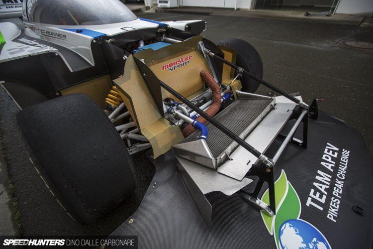 e-Runner electric Monster-Sport Monster Tajima Pikes Peak race racing wallpaper