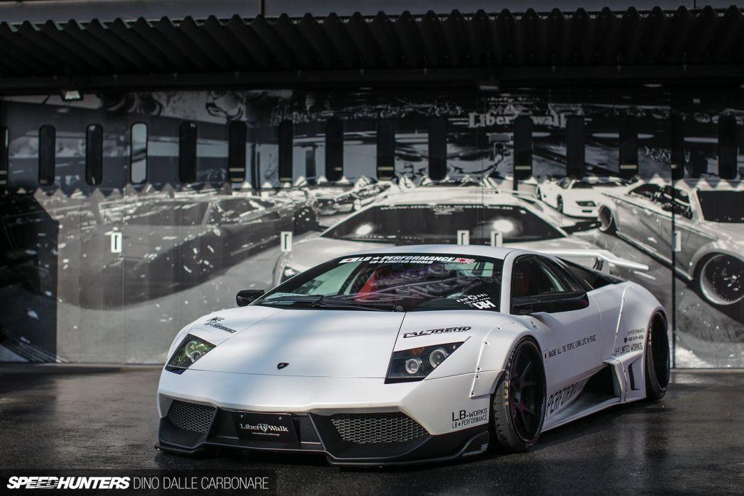 Lamborghini Murcielago supercar tuning wallpaper