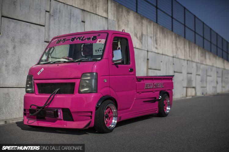 Hello-Special Suzuki Carry Kei Drift Truck pickup race racing tuning wallpaper