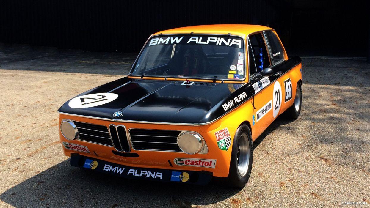 1970 ALPINA BMW 2002ti race racing classic wallpaper