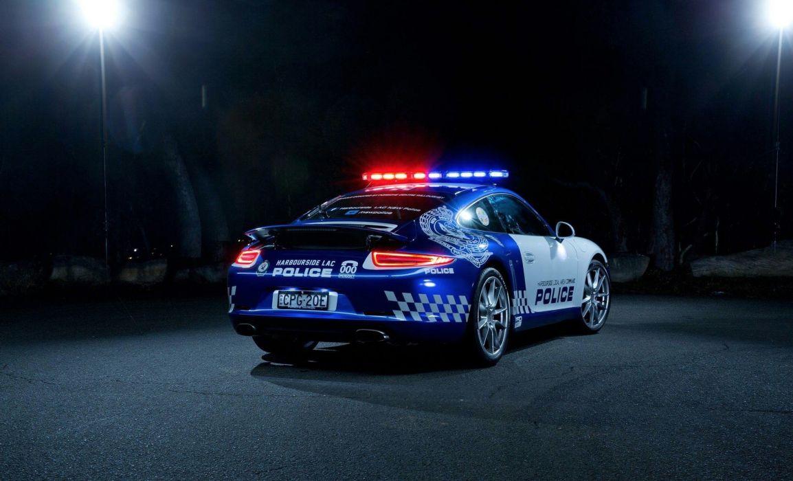 2014 Porsche 911 Carrera Police Australia emergency wallpaper