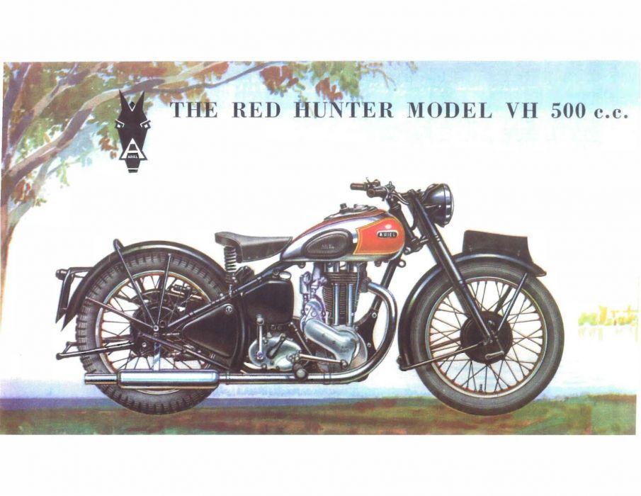 ARIEL RED HUNTER motorbike motorcycle bike wallpaper