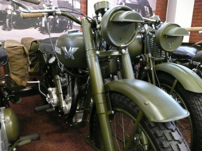 MATCHLESS 350 G-3 motorbike motorcycle retro bike military wallpaper
