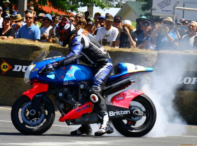 BRITTEN V1000 race racing motorbike bike motorcycle wallpaper