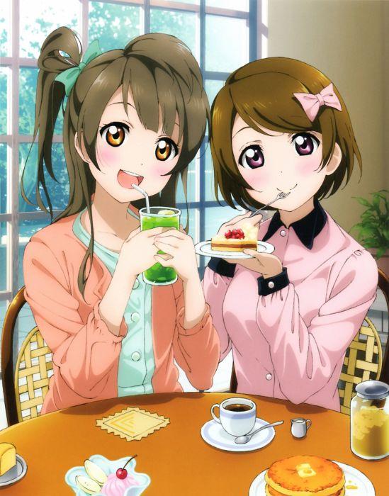 koizumi hanayo love live! minami kotori murota yuuhei possible duplicate wallpaper