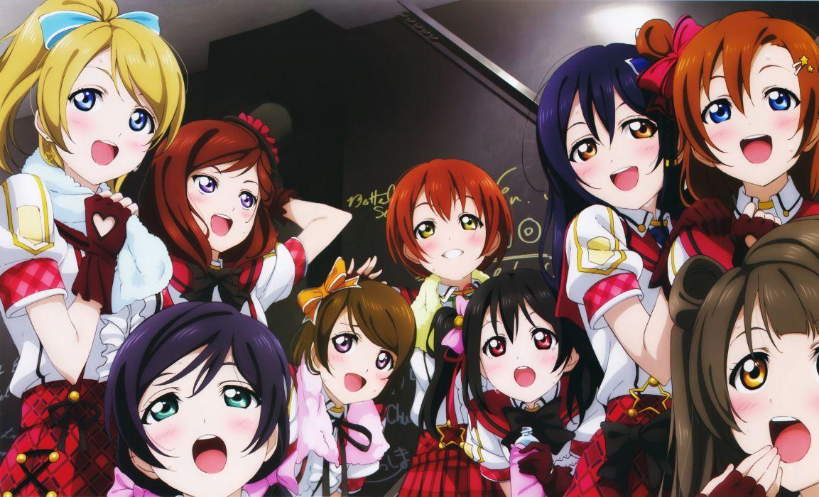ayase eli hoshizora rin koizumi hanayo kousaka honoka love live! minami kotori murota yuuhei nishikino maki sonoda umi toujou nozomi yazawa nico wallpaper