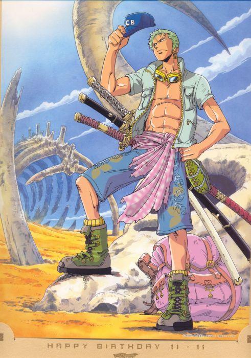 male one piece roronoa zoro wallpaper