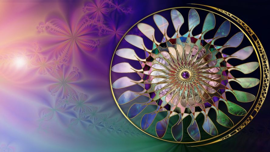 abstract art 3d colors theme colorful light design illustration wallpaper