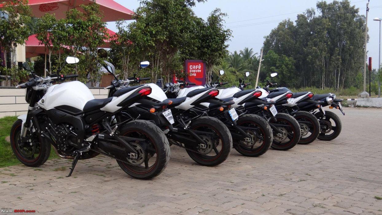 YAMAHA FZ1 motorbike motorcycle bike wallpaper