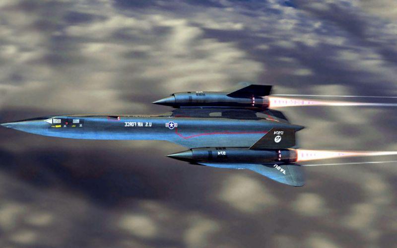 Lockheed SR 71 Blackbird in flight wallpaper