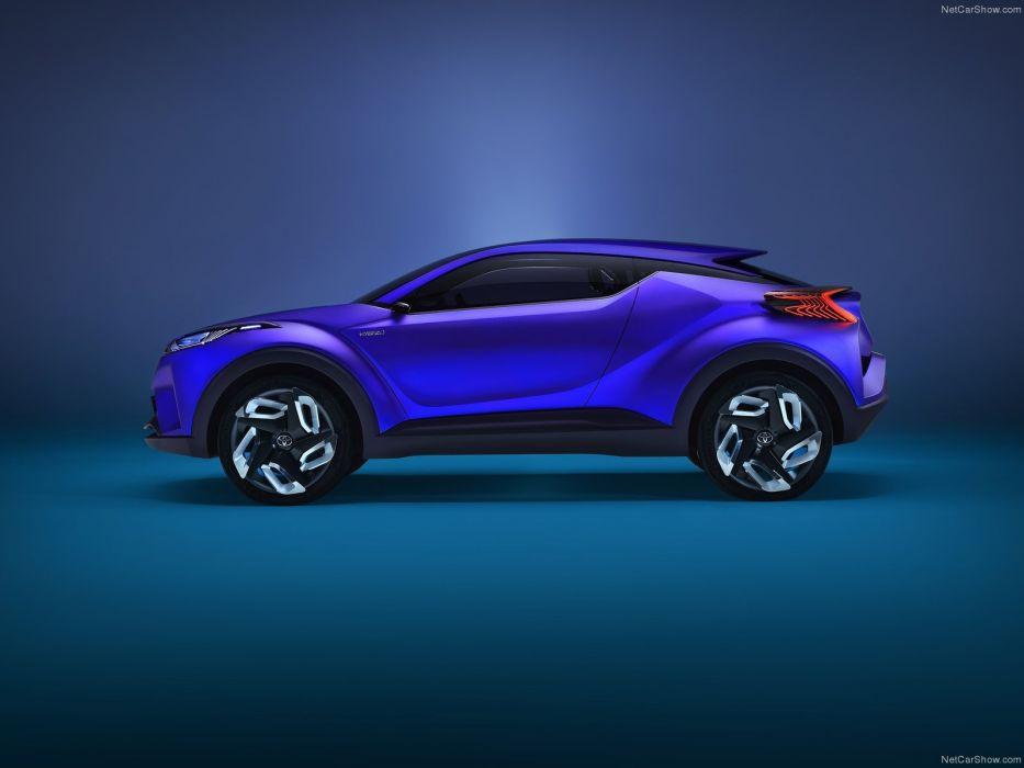 Toyota C-HR Concept 2014 wallpaper