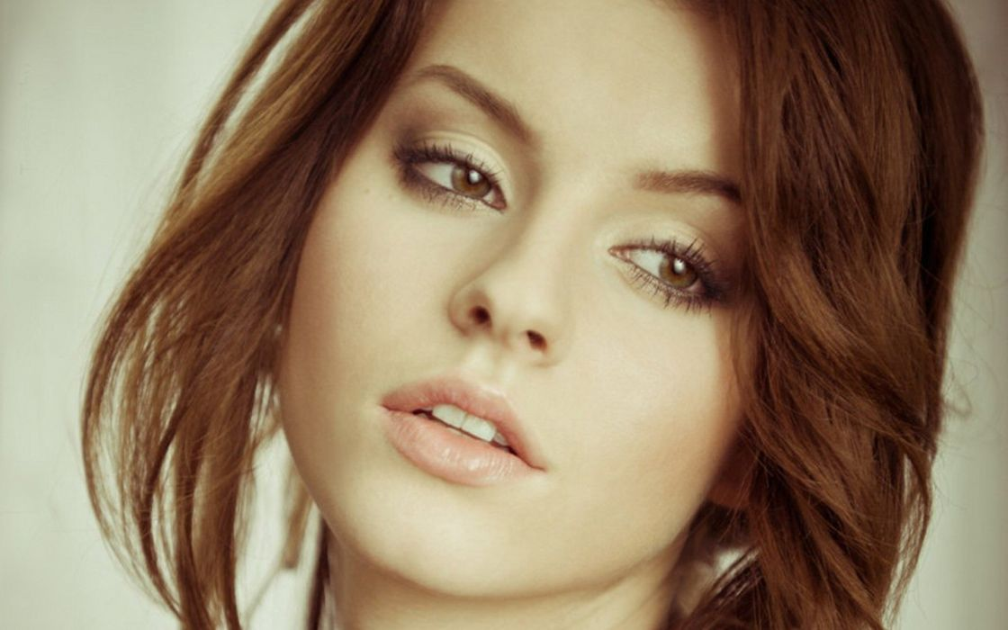 girl wallpapers hair images style makeup lips wallpaper