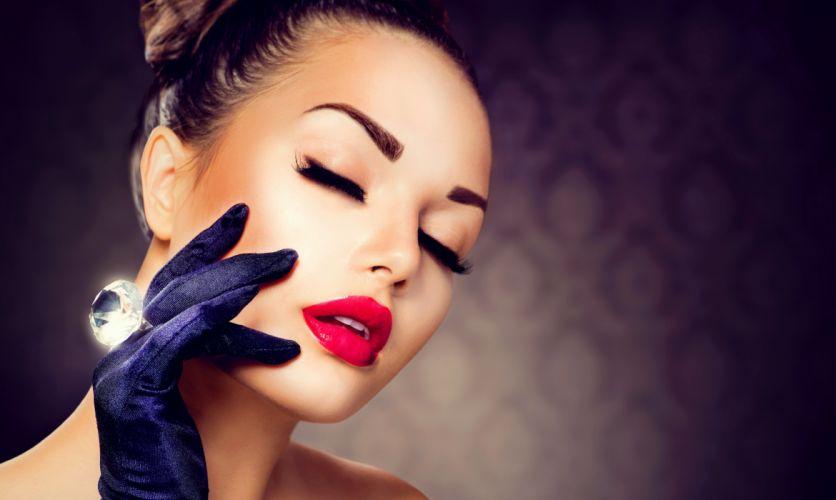 girl hair hair makeup make up eye hand jewelry neck fabric wallpaper