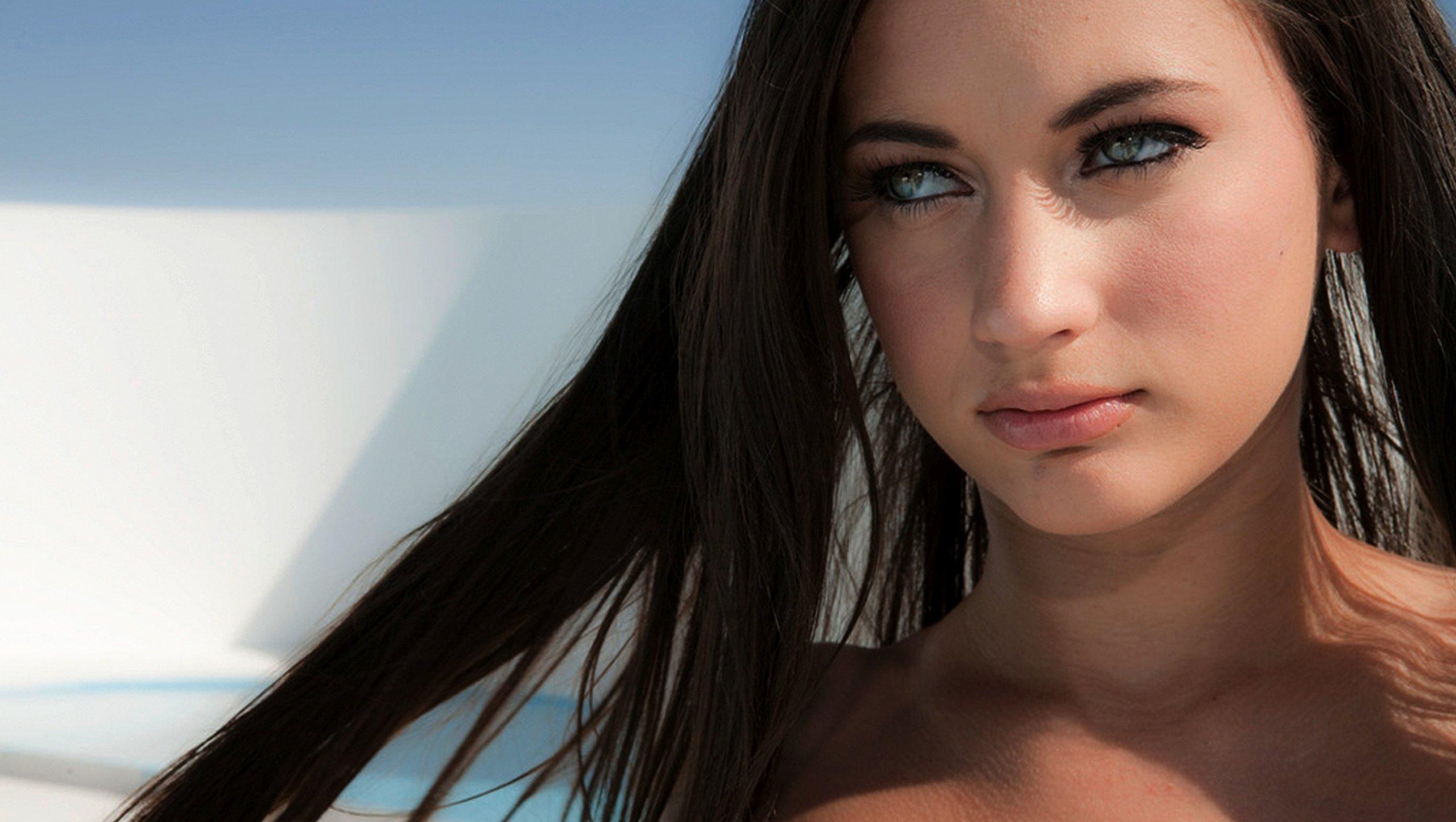 Sensual gorgeous soft georgia jones face beautiful