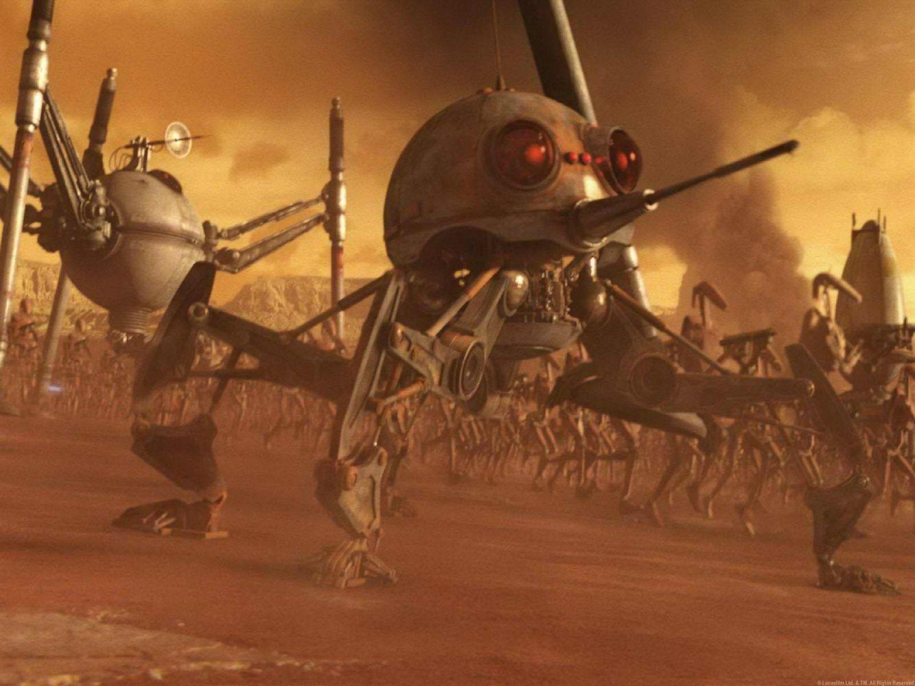 последнее картинки армии дроидов что-то невероятно