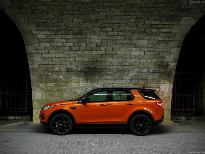 Land Rover Discovery Sport suv 2015 wallpaper