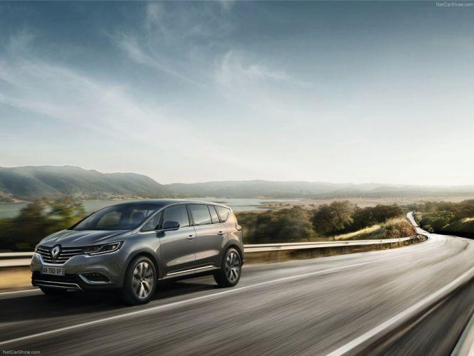 Renault Espace 2015 monospace cars wallpaper