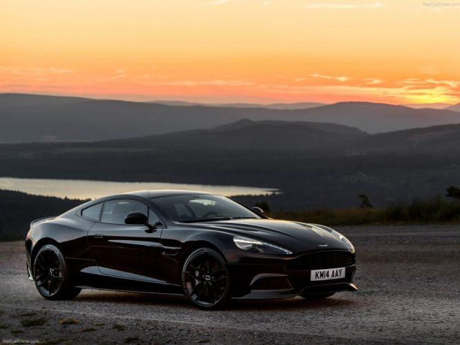Aston Martin Vanquish Carbon Black 2015 cars wallpaper