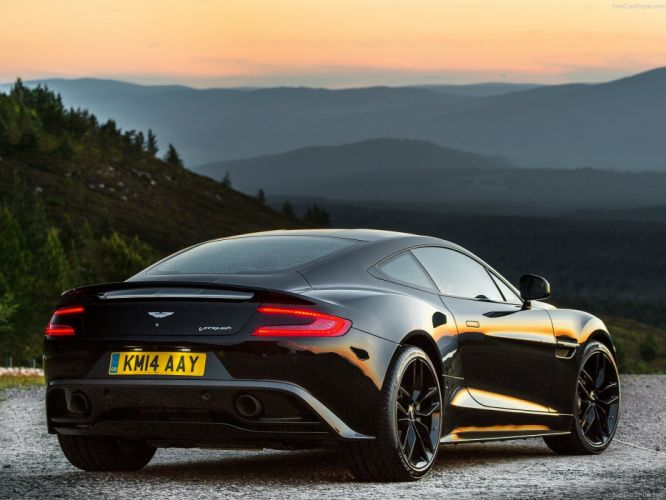 Aston Martin Vanquish Carbon Black 2015 cars wallpaper