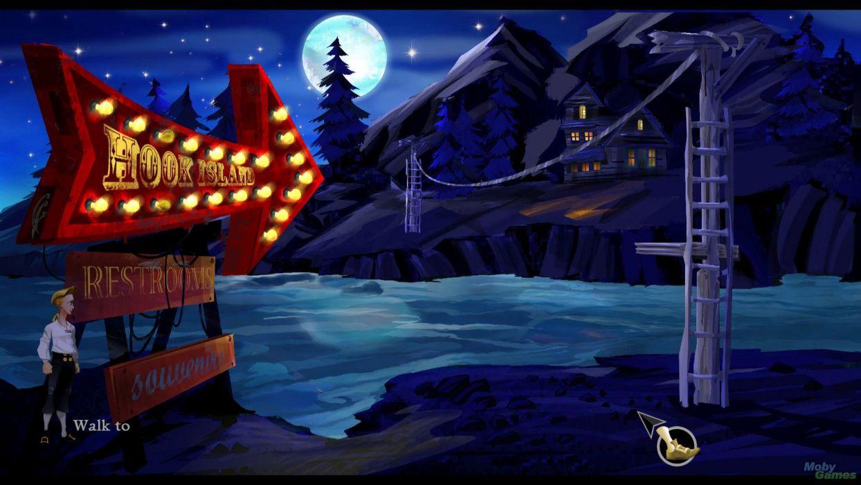 MONKEY ISLAND adventure animation fantasy wallpaper