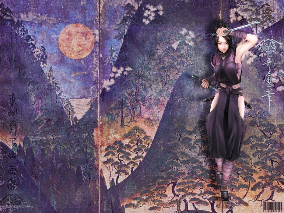 TENCHU action adventure stealth ninja fantasy wallpaper
