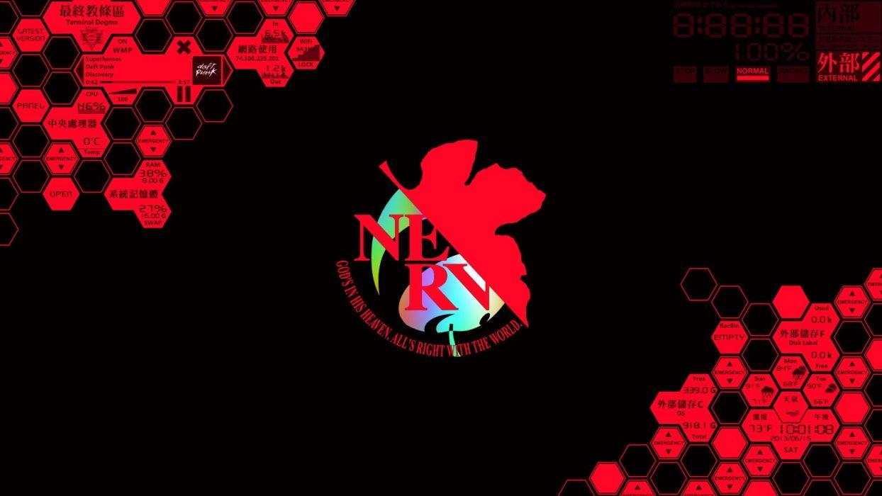 Evangelion Nerv wallpaper