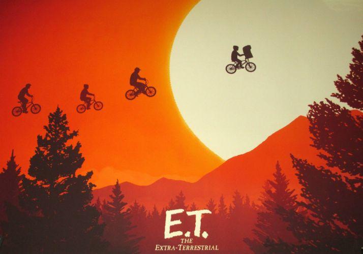 E T THE EXTRA TERRESTRIAL adventure family science sci-fi e-t alien wallpaper