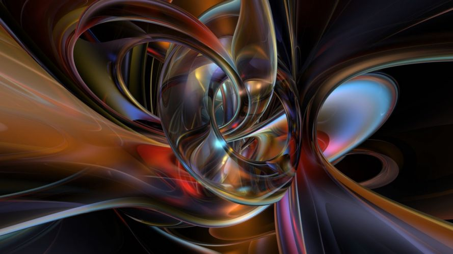 Abstract art colorful colors design illustration light theme wallpaper