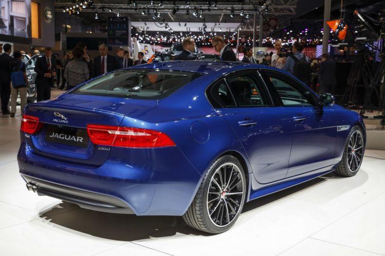 2014 jaguar-xe paris auto show cars wallpaper