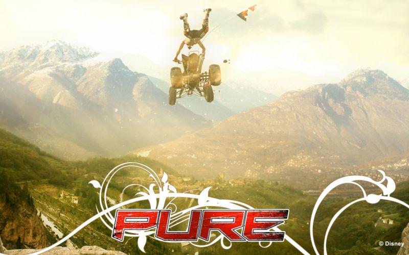 PURE offroad quad bike trick racing race atv (9) wallpaper