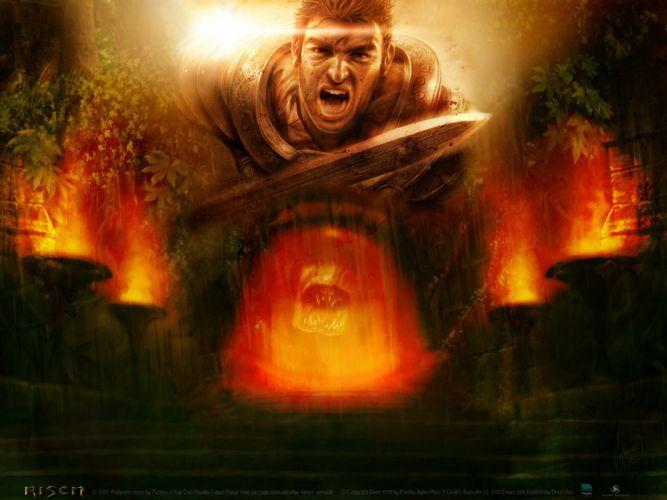 RISEN rpg medieval fantasy action fighting (98) wallpaper