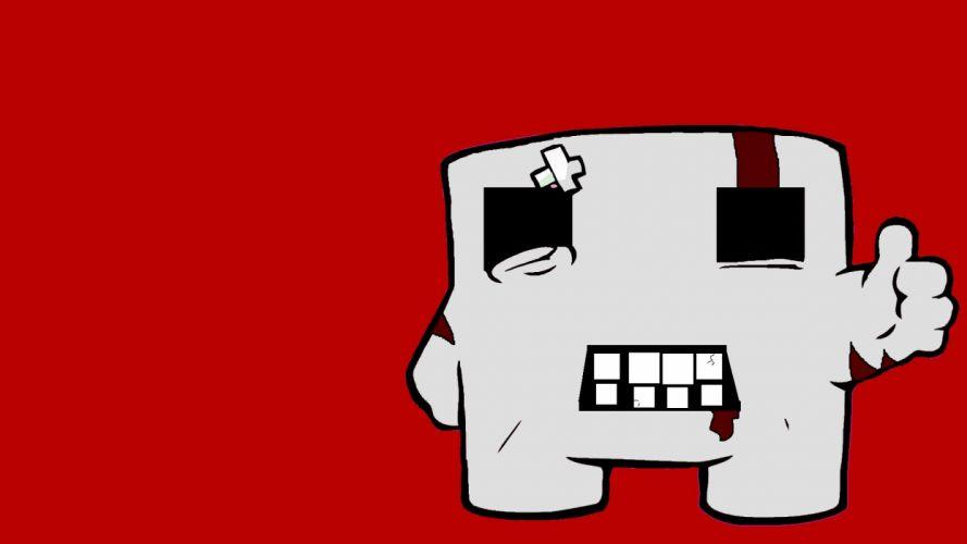 SUPER MEAT BOY platform animation cartoon humor funny nintendo (3) wallpaper