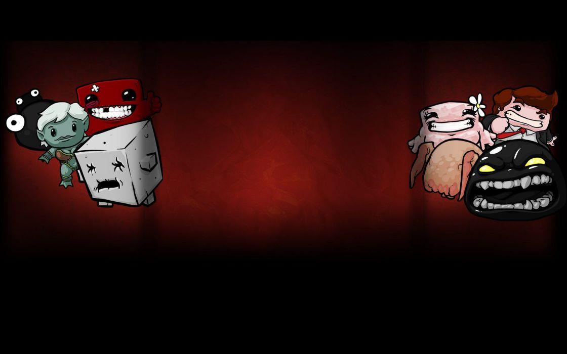 SUPER MEAT BOY platform animation cartoon humor funny nintendo (17) wallpaper
