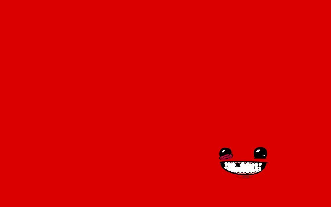 SUPER MEAT BOY platform animation cartoon humor funny nintendo (29) wallpaper