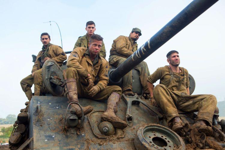 FURY action drama war brad pitt military tank wallpaper