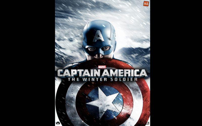 CAPTAIN AMERICA WINTER SOLDIER action adventure sci-fi superhero marvel wallpaper