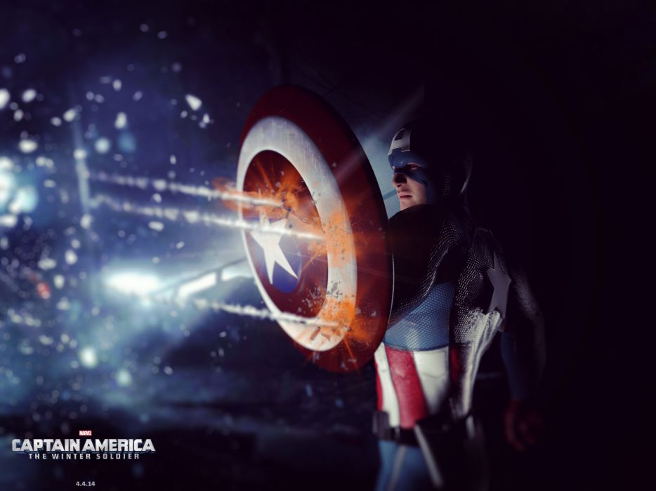 CAPTAIN AMERICA WINTER SOLDIER action adventure sci-fi superhero marvel wallpaper
