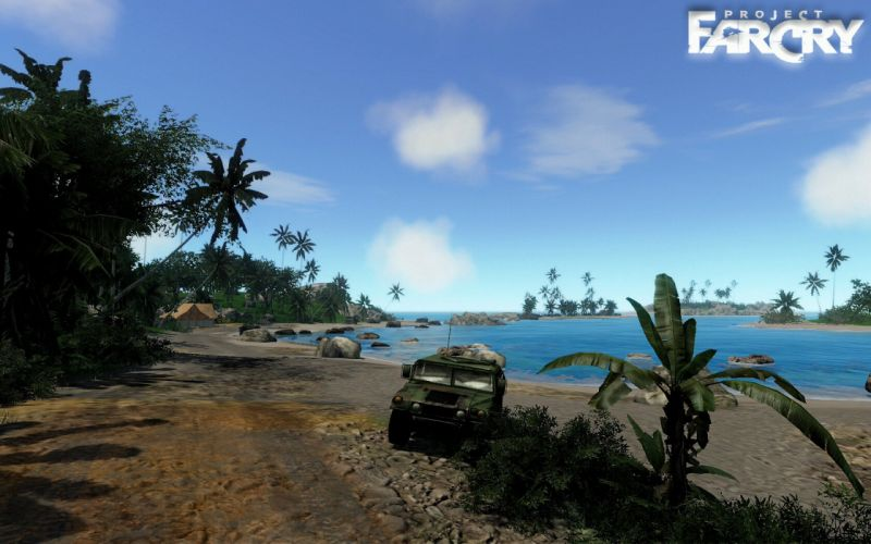 Far Cry game video 2004 pc action shooter islan exotic wallpaper