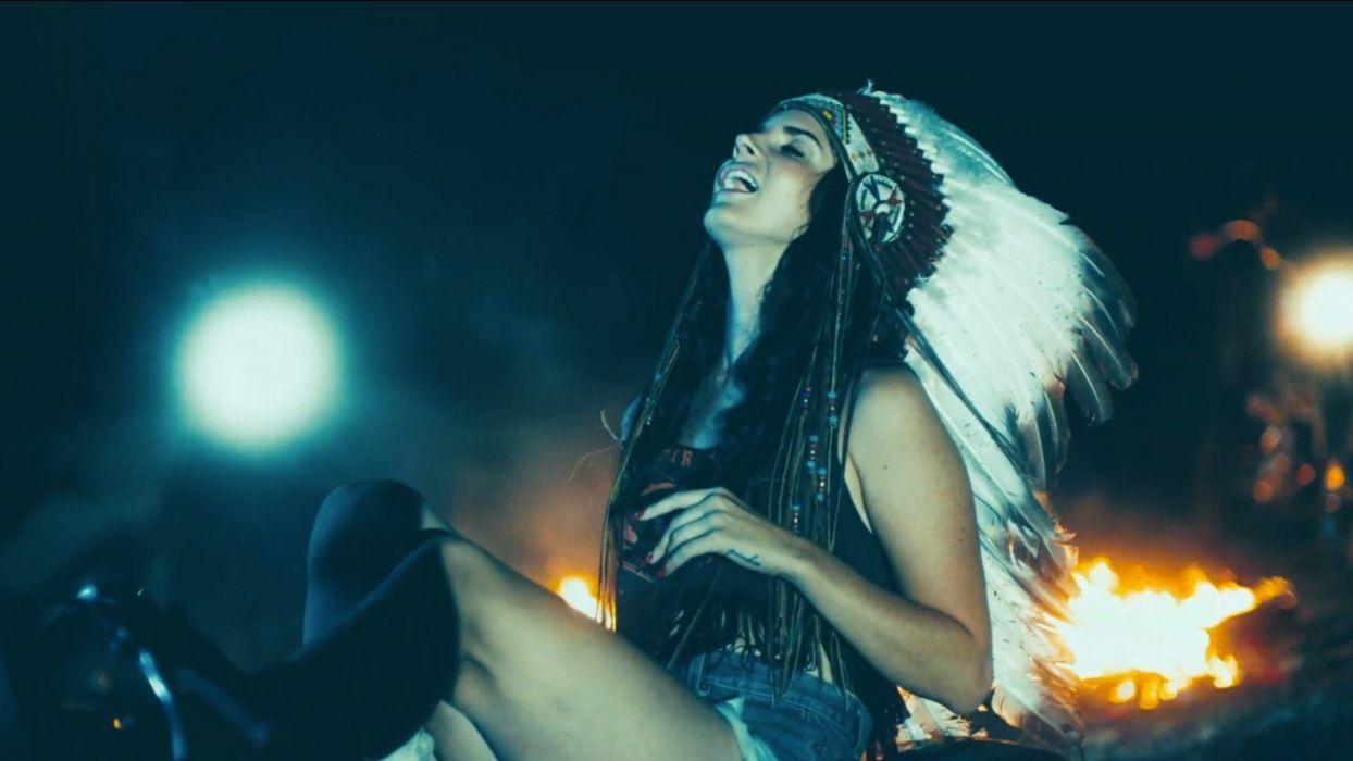 LANA DEL REY pop baroque trip indie alternative sexy babe indian native american western wallpaper